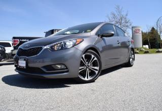 Used 2016 Kia Forte EX PL/PW/AC/LEATHER/ROOF/BC for sale in Quesnel, BC