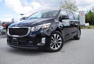 Used 2017 Kia Sedona PW/PL/AT/AC/LEATHER NAVI for sale in Quesnel, BC