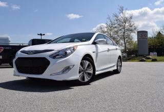 Used 2015 Hyundai Sonata Hybrid PL/PW/AC/ROOF/LEATHER/NAV for sale in Quesnel, BC