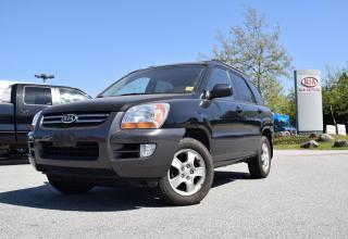 Used 2007 Kia Sportage LX for sale in Quesnel, BC