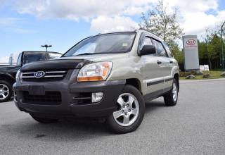 Used 2007 Kia Sportage for sale in Quesnel, BC