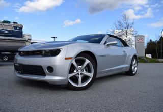 Used 2015 Chevrolet Camaro PL/PW/AC/CONVERTIBLE/LEAT for sale in Quesnel, BC