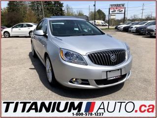 Used 2015 Buick Verano GPS+Camera+Sunroof+Leather+Blind Spot & Cross Traf for sale in London, ON