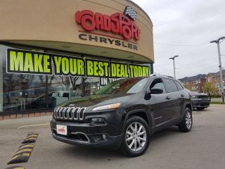 Used 2017 Jeep Cherokee Limited PANO ROOF VENTED SEAT NAVI V6 LUXURY GROUP for sale in Scarborough, ON