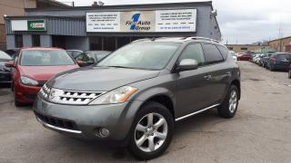 Used 2006 Nissan Murano SE BACKUP CAM, LEATHER, P-MOON for sale in Etobicoke, ON