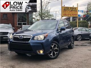 Used 2014 Subaru Forester 2.0XTW/EYESIGHT*Leather*Roof*NaviCamera*FullOpti* for sale in York, ON