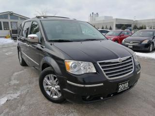 Used 2010 Chrysler Town & Country Limited * DVD * LEATHER * SUNROOF * CERTIFIED * for sale in Oakville, ON