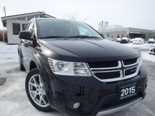 Used 2015 Dodge Journey ONE OWNER CERTIFIED, WARRANTY, LOADED, OAKVILLE for sale in Oakville, ON