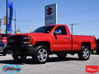 Used 2014 Chevrolet Silverado 1500 4x4 ~5.3L V8 ~20 Inch Wheels ~Very Rare for sale in Barrie, ON