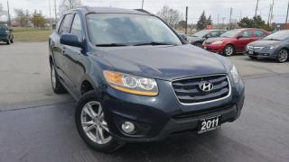 Used 2011 Hyundai Santa Fe Limited 3.5 , AWD, LEATHER, SUNROOF, CERTIFIED for sale in Oakville, ON