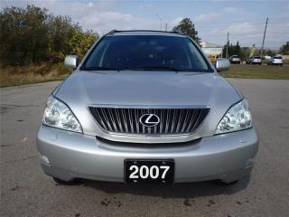 Used 2007 Lexus RX 350 LOW KMS_ACCIDENT FREE_ONTARIO CAR for sale in Oakville, ON