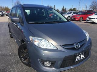 Used 2010 Mazda MAZDA5 GT, CERTIFIED, ACCIDENT FREE for sale in Oakville, ON