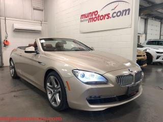 Used 2012 BMW 650i i Cabriolet Low Kms Executive Package for sale in St George Brant, ON