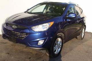 Used 2012 Hyundai Tucson Bluetooth Leather Heated Alloy Fog lights GLS for sale in Mississauga, ON