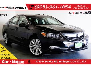 Used 2014 Acura RLX w/Elite Packge| SUNROOF| BACK UP CAMERA| for sale in Burlington, ON