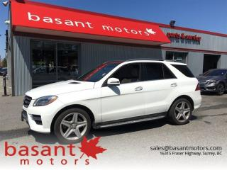 Used 2015 Mercedes-Benz ML-Class ML350, BlueTec, AMG Wheels, Nav, Panoramic Roof!! for sale in Surrey, BC