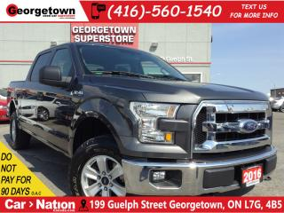 Used 2016 Ford F-150 XLT | CREW CAB | 4X4 | 3.5L V6 | 6 PASS for sale in Georgetown, ON