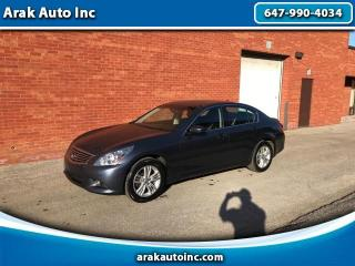 Used 2011 Infiniti G Sedan G25x AWD for sale in Mississauga, ON