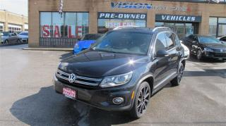 Used 2014 Volkswagen Tiguan RLine/PANO ROOF/BACKUP CAMERA/NAVI for sale in North York, ON