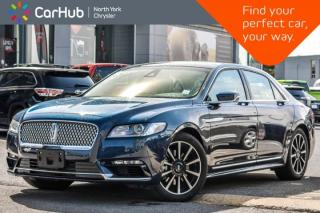 Used 2017 Lincoln Continental Reserve AWD|Climate,Technology Pkgs|Revel Audio|19