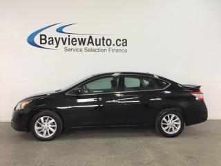 Used 2015 Nissan Sentra 1.8 SV - ALLOYS! PUSH BTN START! HTD SEATS! REV CAM! BLUETOOTH! CRUISE! ECO MODE! for sale in Belleville, ON