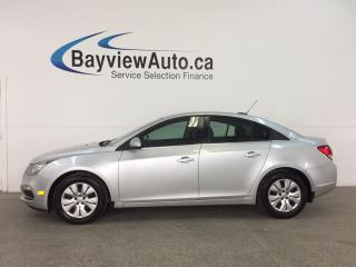 Used 2016 Chevrolet Cruze - TURBO! REM START! A/C! MY LINK! REV CAM! CRUISE! for sale in Belleville, ON