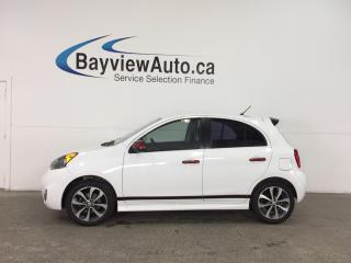 Used 2015 Nissan Micra SR - ALLOYS! TINT! HEATED SEATS! A/C! REVERSE CAM! for sale in Belleville, ON