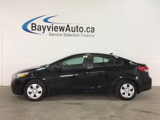 Used 2017 Kia Forte LX - AUTO! A/C! BLUETOOTH! PWR GROUP! CRUISE! for sale in Belleville, ON