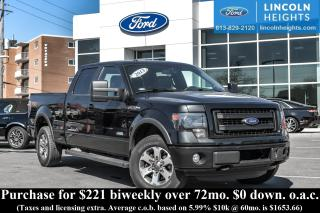 Used 2013 Ford F-150 FX4 SuperCrew6.5-ft. Bed 4WD for sale in Ottawa, ON