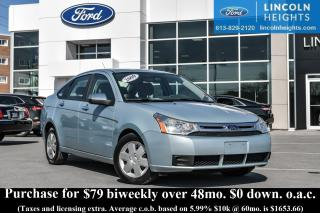 Used 2009 Ford Focus SE SEDAN for sale in Ottawa, ON