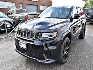 Used 2018 Jeep Grand Cherokee Trackhawk BRAND NEW/LAGUNA LEATHER/HIGH PERFORMANC for sale in Concord, ON