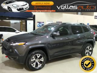 Used 2016 Jeep Cherokee TRAILHAWK| 4WD| NAVIGATION| R/CAMERA for sale in Woodbridge, ON
