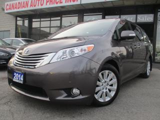 Used 2014 Toyota Sienna XLE-LIMITED-7 Passenger-TV-DVD-NAV-CAMERA-LOADED for sale in Scarborough, ON