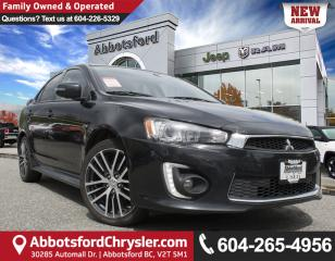 Used 2016 Mitsubishi Lancer GTS *LOCALLY DRIVEN* for sale in Abbotsford, BC