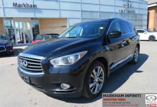 Used 2015 Infiniti QX60 TOURING TECH, DVD, NAVI, BLIND SPOT WARNING for sale in Unionville, ON