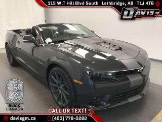 Used 2014 Chevrolet Camaro SS HEATED LEATHER, REAR VISION CAMERA, for sale in Lethbridge, AB