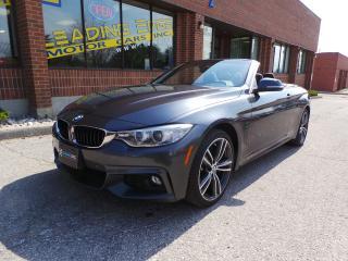 Used 2015 BMW 435i i xDrive Cabriolet, Navigation, Harman/Kardon for sale in Woodbridge, ON