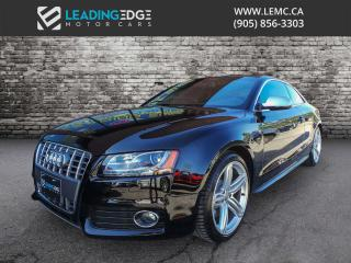 Used 2011 Audi S5 4.2 Premium V8, Drive Select, Bang & Olufsen for sale in Woodbridge, ON
