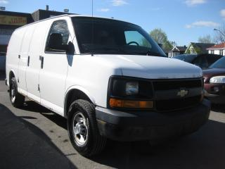 Used 2008 Chevrolet Express 2500 Cargo Van AC Auto 8cyl Wood Shelving for sale in Ottawa, ON