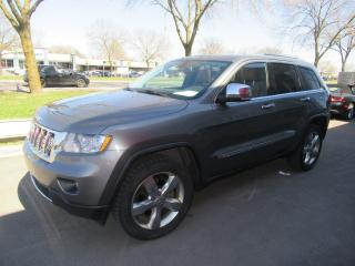 Used 2012 Jeep Grand Cherokee Overland for sale in Dollard-des-Ormeaux, QC