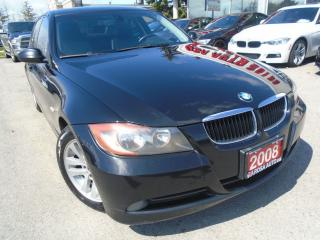 Used 2008 BMW 3 Series 323i AUX SUNROOF  PL,PW,PM,PS,   HEATED SEATS for sale in Oakville, ON