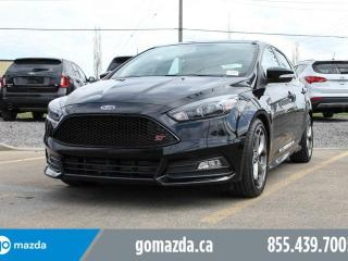 Used 2017 Ford Focus ST ST LEATHER SUNROOF SONY SOUNDSYSTEM FUN CAR for sale in Edmonton, AB