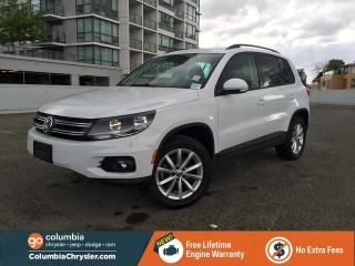 Used 2017 Volkswagen Tiguan Wolfsburg for sale in Richmond, BC