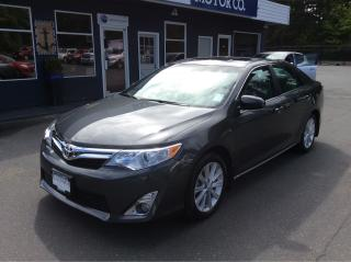 Used 2012 Toyota Camry XLE for sale in Parksville, BC