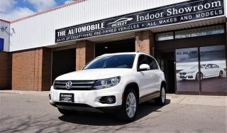 Used 2014 Volkswagen Tiguan 4MOTION Highline AWD NAVI BACK-UP CAMERA PANO ROOF for sale in Mississauga, ON