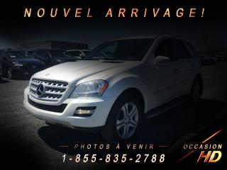 Used 2011 Mercedes-Benz ML 350 BLUETEC 4MATIC GARANTIE + MAGS + CUIR + for sale in Drummondville, QC