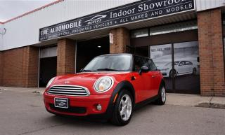 Used 2010 MINI Cooper MANUAL NO ACCIDENT for sale in Mississauga, ON