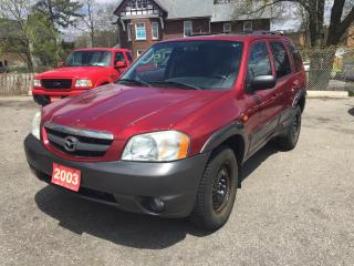 Used 2003 Mazda Tribute Es for sale in Scarborough, ON
