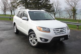 Used 2011 Hyundai Santa Fe Limited w/Navi-ROOF|LEATHER|BLUETOOTH|BACKUP CAM| for sale in Oshawa, ON