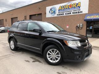 Used 2016 Dodge Journey SXT - 7 PASSENGER - REAR AIR - BLUETOOTH - ALLOYS for sale in Aurora, ON